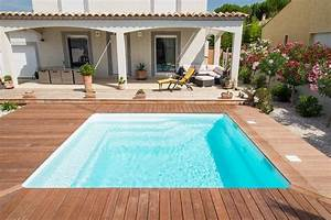 Prix Petite Piscine : prix d 39 un mod le de petite piscine coque polyester pour ~ Premium-room.com Idées de Décoration