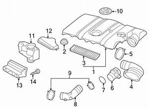 Volkswagen Rabbit Engine Air Intake Hose Adapter  2 5