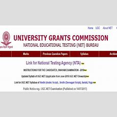 Nta Ugc Net 2019 Online Registration, Eligibility, Ugc Net Exam Pattern And Syllabus Apply