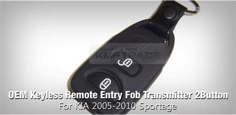 Oem Keyless Remote Entry Fob Transmitter Button For Kia