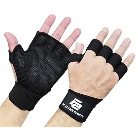gloves kettlebell lifting weight pull amazon weightlifting wods wraps ventilated grip wrist ups suits palm protection extra fitness built training