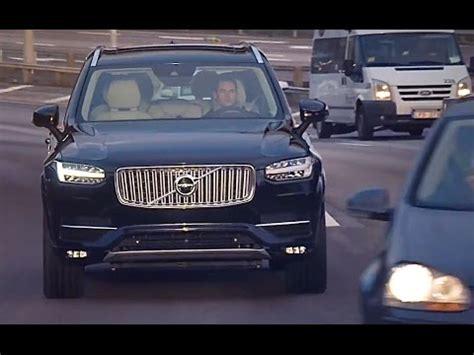 volvo  driving car    public roads