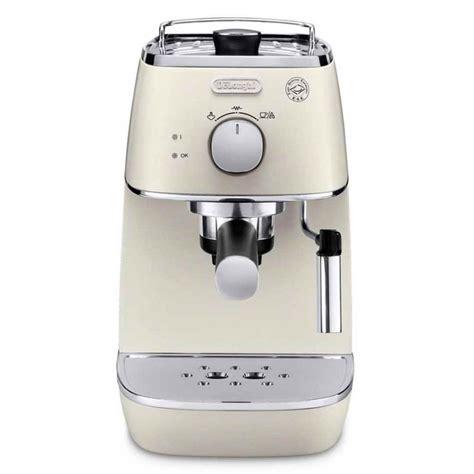 DeLonghi Distinta Espresso & Cappuccino Machine White