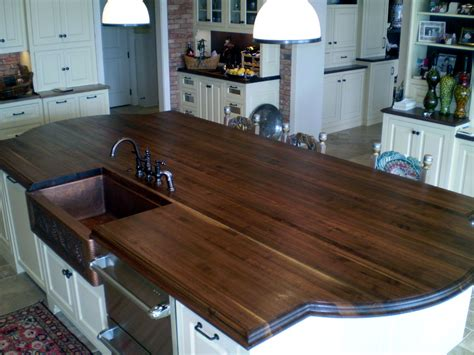 walnut kitchen island walnut countertops j aaron 3345