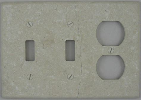 marble outlet covers bottocino marble outlet cover