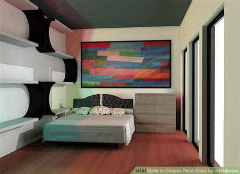 choose paint color   bedroom  steps