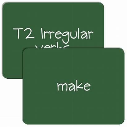 Verbs Regular Irregular T2