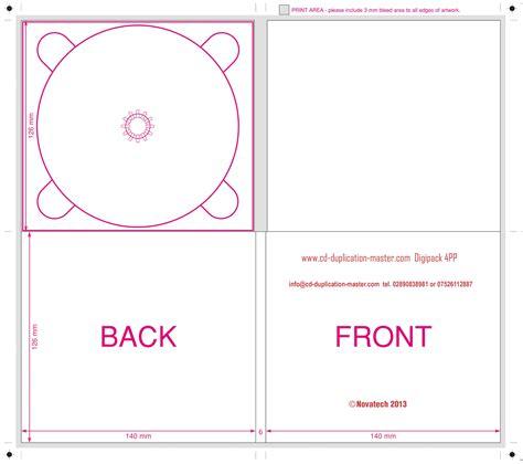 digipack box template digipack cd duplication uk