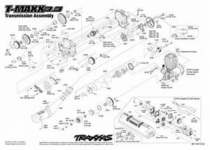 4907 Transmission Exploded View  T