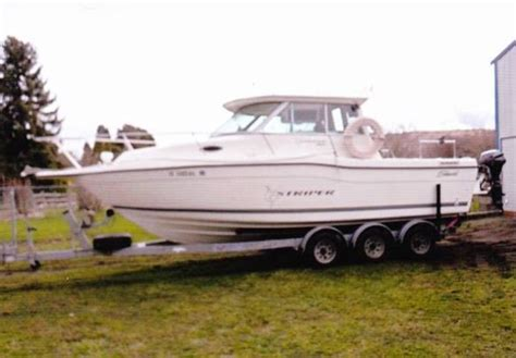 Striper Boats For Sale Vancouver by Striper New And Used Boats For Sale In Washington