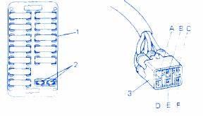 Suzuki Sidekick 1 6mpfi 1994 Fuse Box  Block Circuit