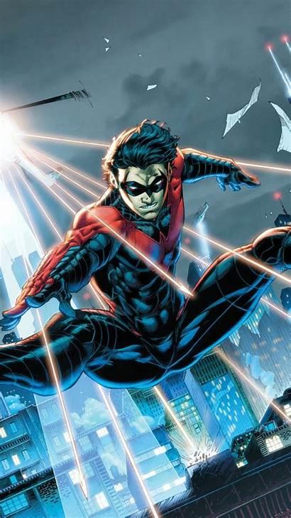 Phone Nightwing Dc Robin Iphone Comics Wallpapers