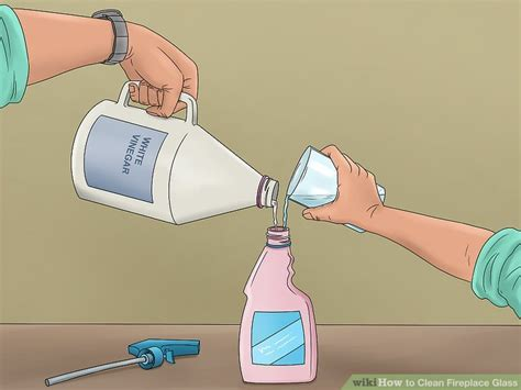 how to clean fireplace glass how to clean fireplace glass with pictures wikihow