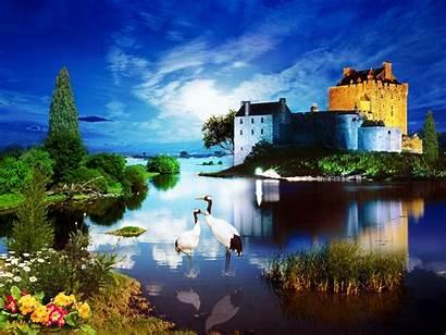 Scotland Eilean Castle Donan Manipulation Scottish Castles