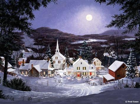 homeade lifesize thinas kinkade christmas tree wolf cards on seasonchristmas merry