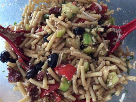 pates aux courgettes marmiton salade de p 226 tes italienne aux l 233 gumes recette de salade de p 226 tes italienne aux l 233 gumes marmiton