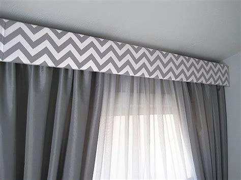 Contemporary Window Cornice by Contemporary Cornice Gray Chevron Modern Cornice Board