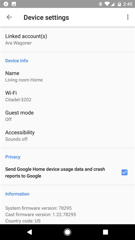 google home app  android      android central