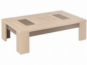 Table Basse Chene Clair : table basse rectangulaire atlanta coloris ch ne clair chez conforama ~ Teatrodelosmanantiales.com Idées de Décoration