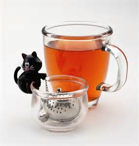 cat tea infuser new joie msc meow cat tea infuser cup leaf stainless steel