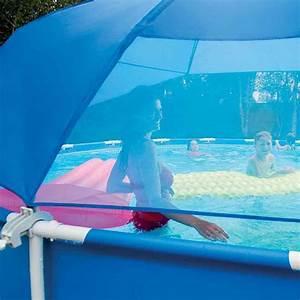 Preparation Terrain Pour Piscine Hors Sol Tubulaire : ombrelle piscine tubulaire ronde intex achat vente ~ Melissatoandfro.com Idées de Décoration