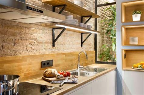 tipos de repisas de madera  tu cocina