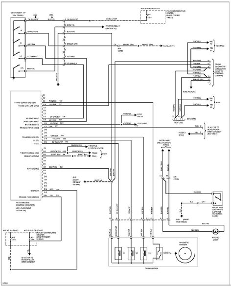 Wiring Diagram 2001 Jeep Xj by System Wiring Diagrams 1993 Jeep Xj