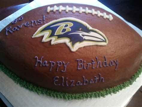 baltimore ravens football cake cakecentralcom