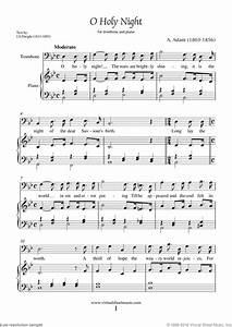Free Adam - O Holy Night sheet music for trombone and ...