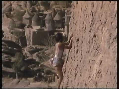 Catherine Destivelle Amazing Solo Climb Mali Youtube