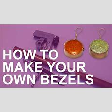 How To Make Your Own Bezels For Resin Jewelry Making  Youtube