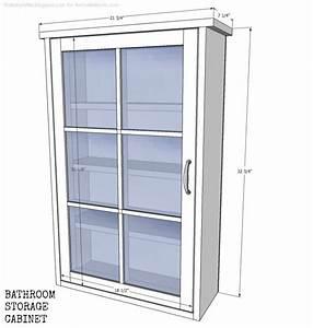 Remodelaholic Bathroom Storage Cabinet using an old Window