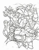 Fighter Coloring Ryu Awesome Shoryuken Thread Printable Fight Getcolorings Streetfighter Marvel Getdrawings sketch template