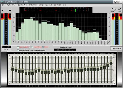 graphic equalizer studio