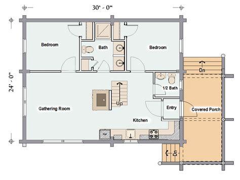 best cabin floor plans open floor plans small cabins