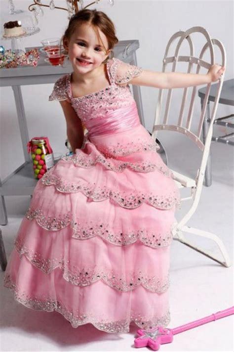 robe de mariã princesse robe de princesse luxe pour enfant en mousseline de qualité avec les stras bling bling rd114
