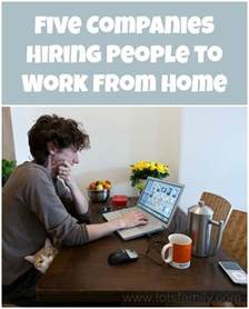 Companies That Hire People to Work From Home