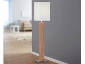 Lampe Mit Stoffschirm : wofi design stehleuchte holz stoffschirm creme mit e27 led stehlampe wohnzimmer ebay ~ Indierocktalk.com Haus und Dekorationen