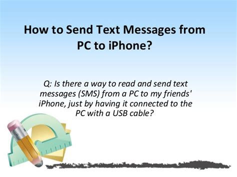 How To Send Text Messages From Pc To