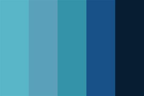 Blue Raspberry Color Palette