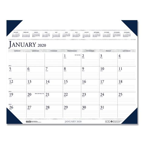 executive monthly desk pad calendar completeofficeusacom