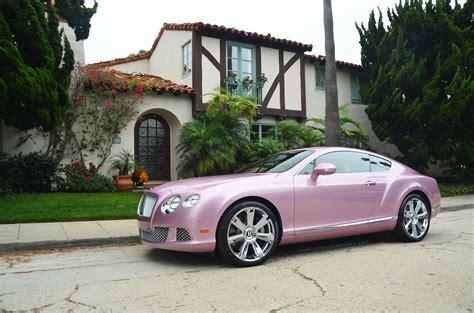 pink bentley pink 2012 bentley continental gt for sale autoevolution