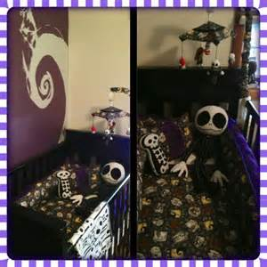 Nightmare Before Christmas Crib Bedding by Baby Nursery Nightmare Before Christmas Bubba Debroughe