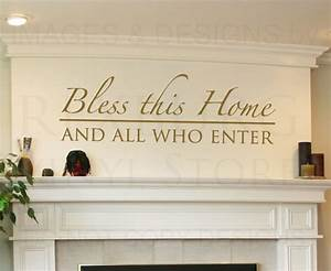 home quotes wall decals image quotes at hippoquotescom With wall decor quotes