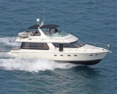 Carver Boats Manufacturer by Neff Yacht Sales Used 57 Foot Carver 570 Voyager