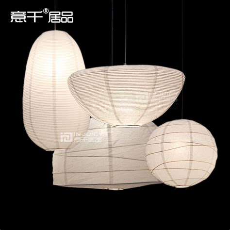 ikea simple paper l shade pendant lantern led lighting