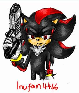 iScribble - Shadow's Gun by BlueNeedle-Inu on DeviantArt