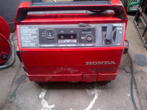 HONDA GENERATOR ex650 suitcase generator SANDWELL, Dudley