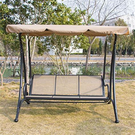 save 27 bestmart inc outdoor 3 person canopy swing