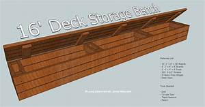 How to Build a Deck Storage Bench - Denver Shower Doors
